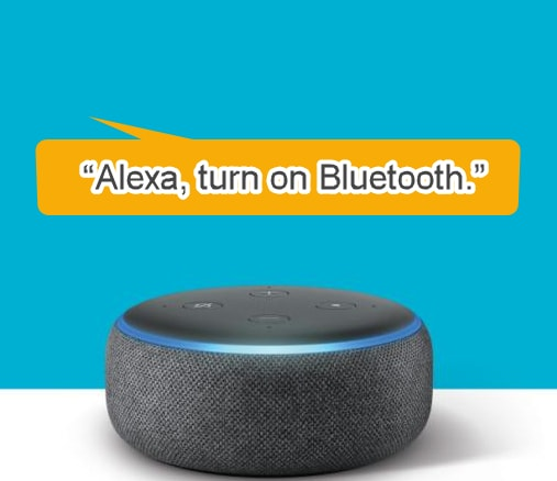 alexa turn on bluetooth