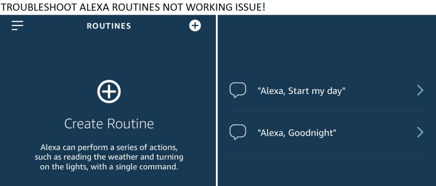 Alexa Routine not Working (Setup and Troubleshooting Guide)