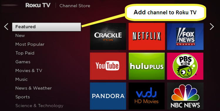 How to Add Channels to Roku TV (Free Official/Private Channels)
