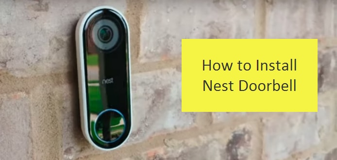 How to install nest doorbell