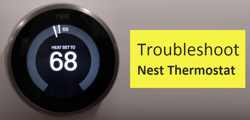 Fix Nest Won T Turn On And Nest Thermostat Battery Won T Charge Issues