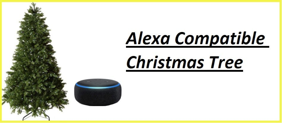 Alexa compatible Christmas Tree