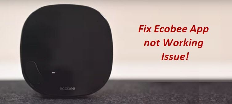 How to Fix an Ecobee App not Working Issue