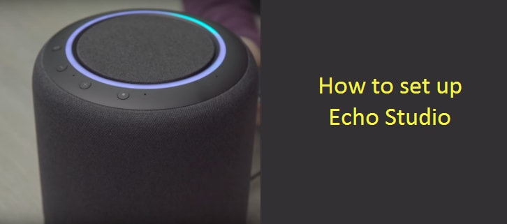 How to set up Echo Studio