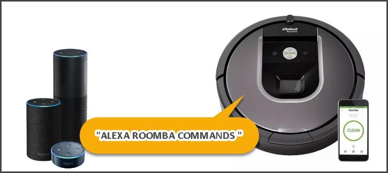 alexa roomba commands