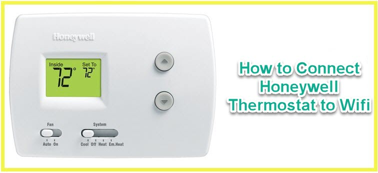connect honeywell thermostat to wifi