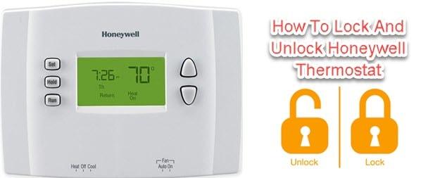 Lock And Unlock Honeywell Thermostat