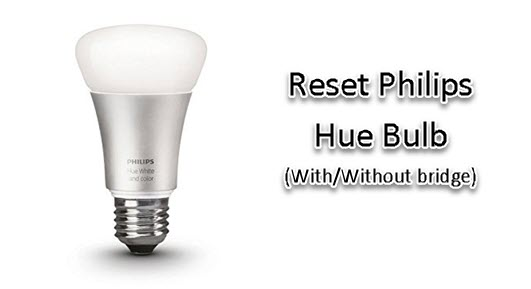 Philips Hue Reset