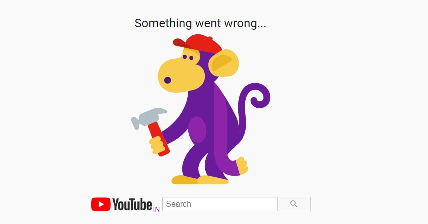Youtube is currently down