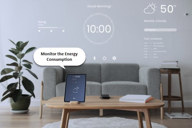 Monitor the Energy Consumption